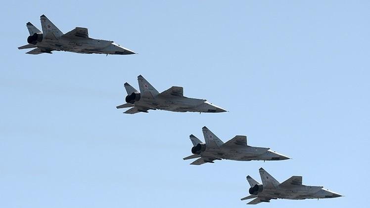 La defensa antimisiles rusa protege Moscú de un 'ataque' aéreo masivo