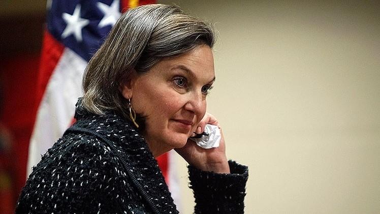 Victoria Nuland: EE.UU. no ve ninguna amenaza en la actividad de RT