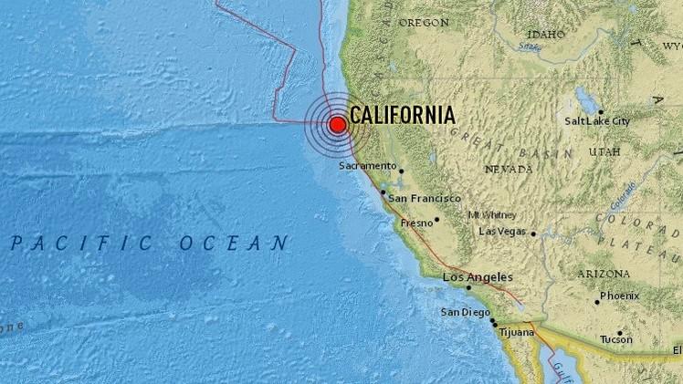 Un sismo de magnitud 5.7 sacude el norte de California