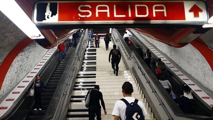 México combate la obesidad ofreciendo billetes de metro a cambio de ejercicios