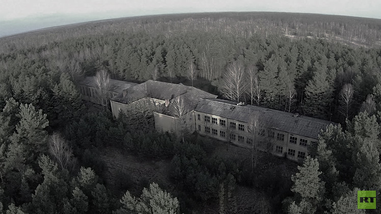 Alemania: Un dron halla una base militar soviética 'fantasma' en pie 20 años después