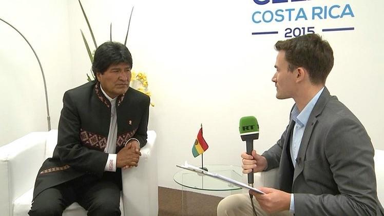 Evo Morales: RT es la voz de los pueblos del mundo