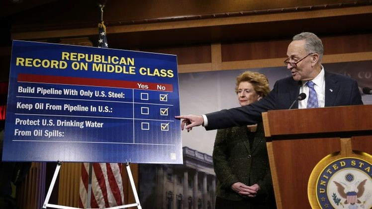 El Senado de EE.UU. desafía a Obama aprobando el oleoducto Keystone