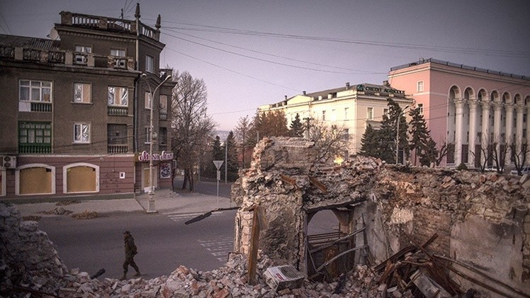 Ucrania: La OSCE informa del bombardeo con bombas de racimo sobre Lugansk