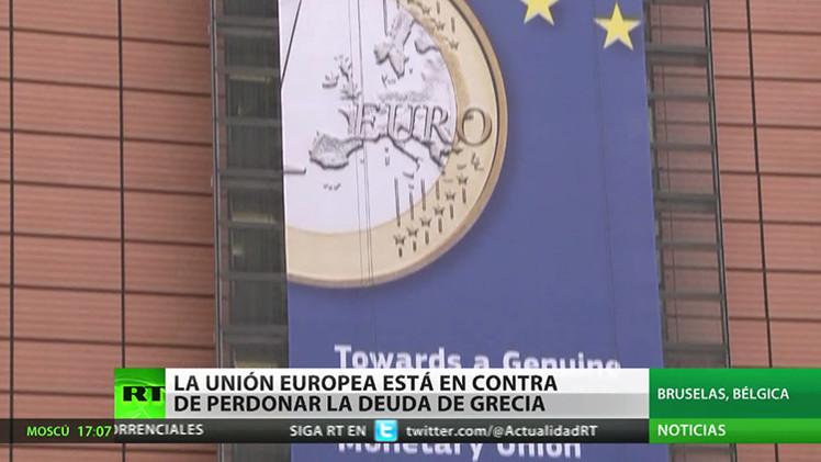 La Unión Europea está en contra de perdonar la deuda de Grecia