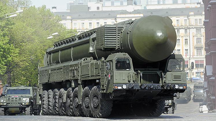 """Las 5 armas nucleares de Rusia que """"deberían dar miedo a Occidente"""""""