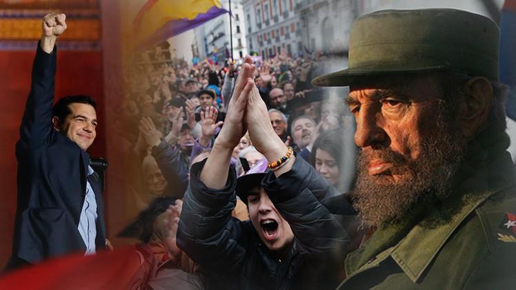 Balance semanal: Triunfo de Syriza, ataques en Ucrania, 'Marcha del Cambio' en España