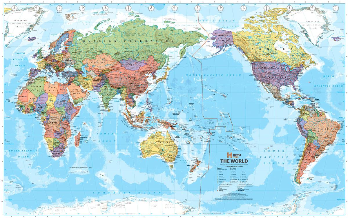 Mapas Cmo representan el mundo diferentes pases  RT
