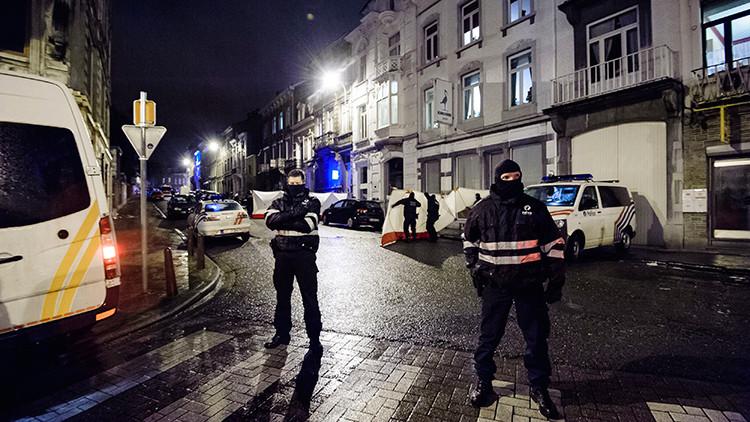 """'Un segundo Paris': Policía belga evita un """"inminente"""" ataque terrorista"""