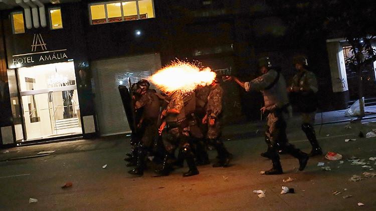 Brasil protesta gas