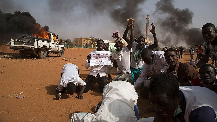 Protestas en Nigeria contra 'Charlie Hebdo'