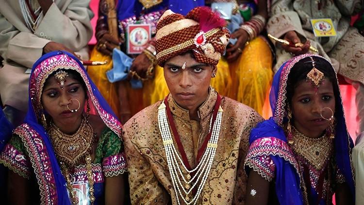 Secuestro de novio en la India