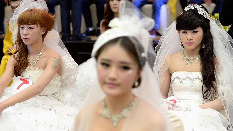 Llantos de las novias en China