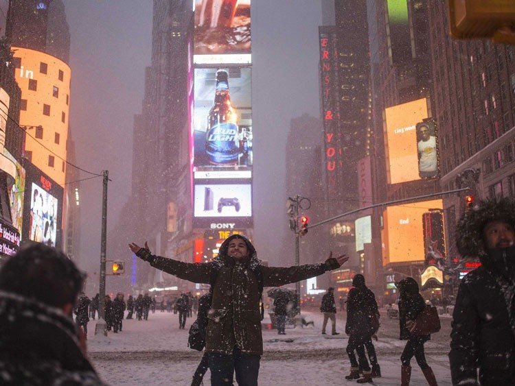 nueva york tormenta nieve