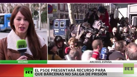 El PSOE va a presentar recursos contra la liberación de Luis Bárcenas bajo fianza
