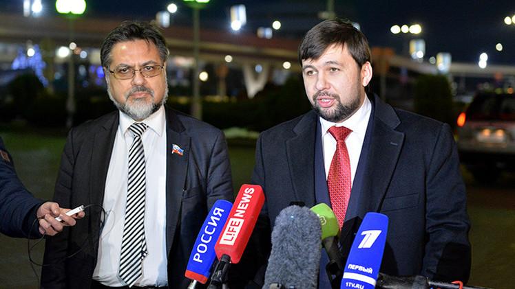 Donetsk y Lugansk definen condiciones para el inicio de las negociaciones con Kiev