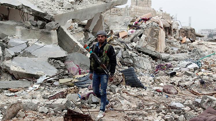 Impactantes imágenes de la ciudad de Kobani, destruida tras los combates con el EI
