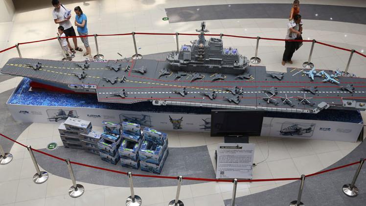 China, a un paso de finalizar la construcción de su primer portaaviones