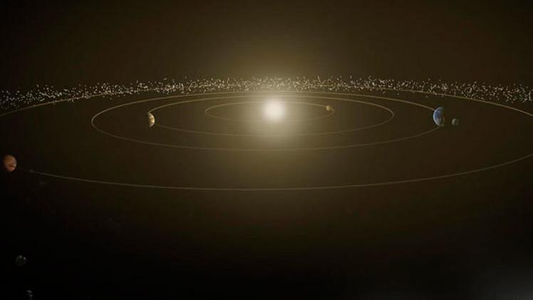 Video: Viaje a través del sistema solar a la velocidad de la luz