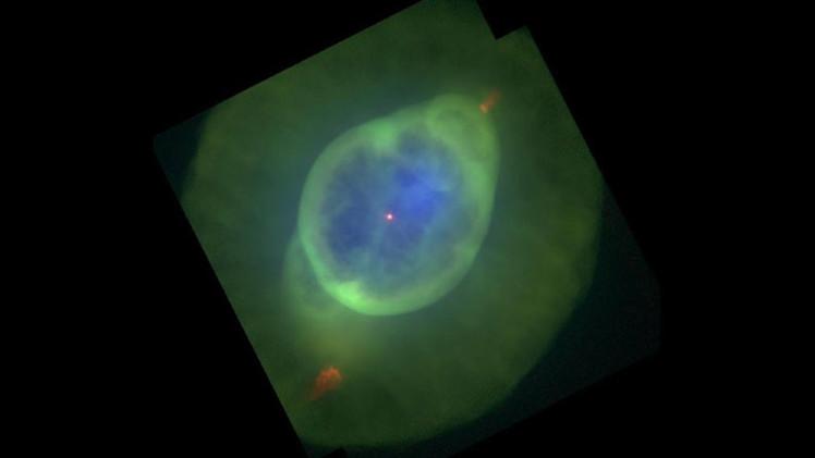 Un vistazo de cómo morirá el Sol: Captan al 'Fantasma de Júpiter' liberando sus capas exteriores