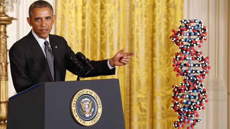 ¿Para qué Obama quiere recoger el ADN de centenares de miles de estadounidenses?