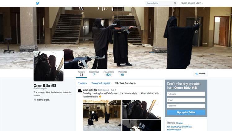 Gemelas británicas publican fotos de cómo entrenan en el Estado Islámico para matar en Siria
