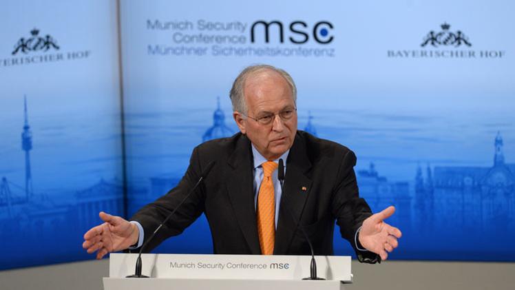 """Presidente de la Conferencia de Múnich: """"El orden mundial se está descomponiendo"""""""