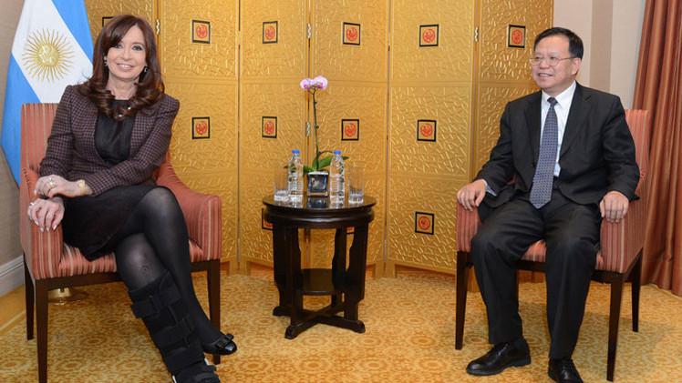 """Cristina Fernández: """"Argentina confirma su presencia e importancia en la primera economía del mundo"""""""