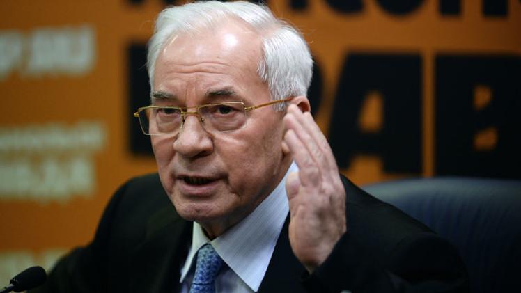 """Ex primer ministro de Ucrania: """"Combates en Donbass, una forma de justificar la corrupción de Kiev"""""""