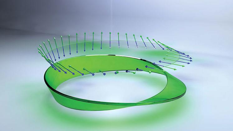 Crean una cinta de Möbius de luz