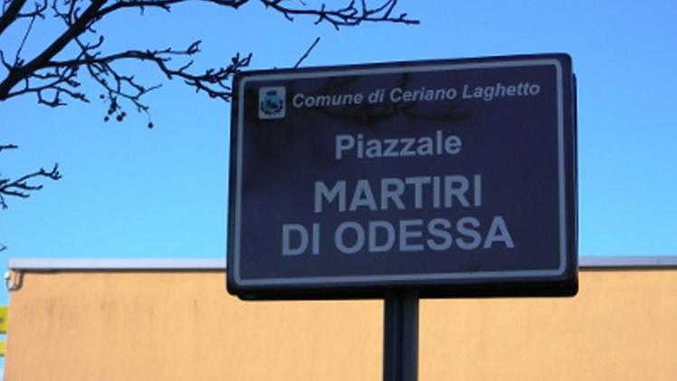 Italia: Un ayuntamiento desoye a Kiev y no renombrará la plaza de los Mártires de Odesa