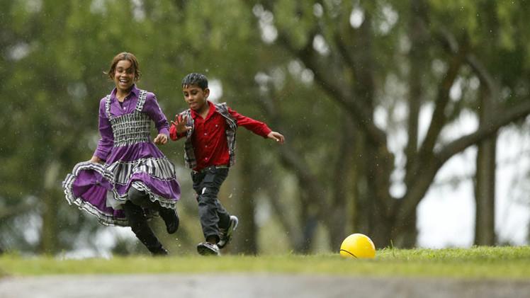 Uruguay recibirá solo a mujeres y niños sirios por casos de violencia doméstica