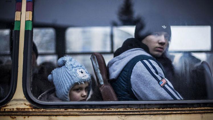 Kiev se compromete a crear corredor humanitario para los civiles de Debáltsevo