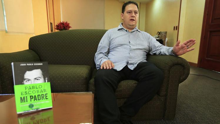 """Hijo de Pablo Escobar: """"Si preguntabas por la historia del cartel de Medellín te mataban"""""""