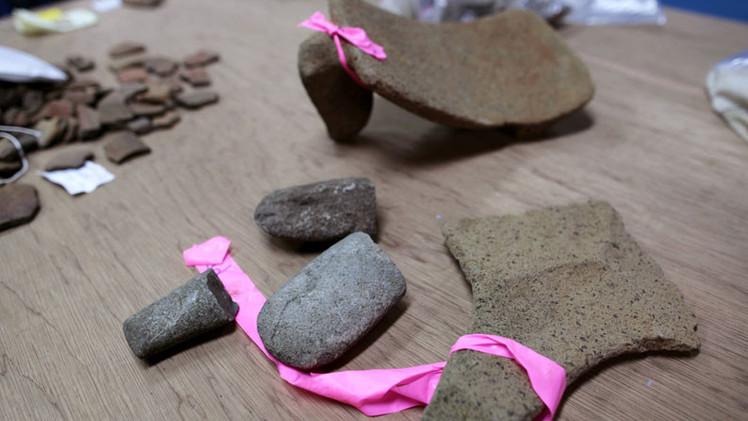 Descubren miles de piezas arqueológicas en la ruta del Canal de Nicaragua