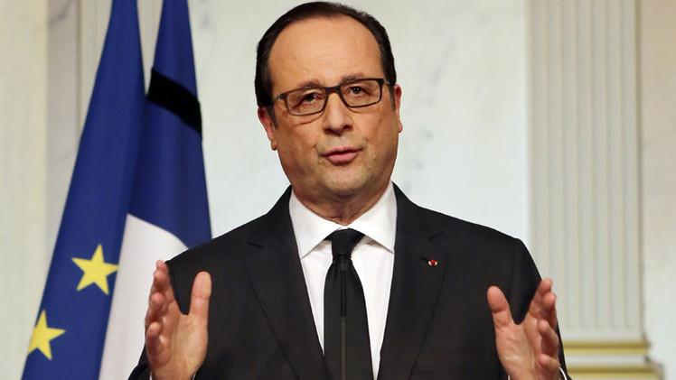"""Hollande: """"Sin un acuerdo pacífico en Ucrania funcionará el escenario de guerra"""""""