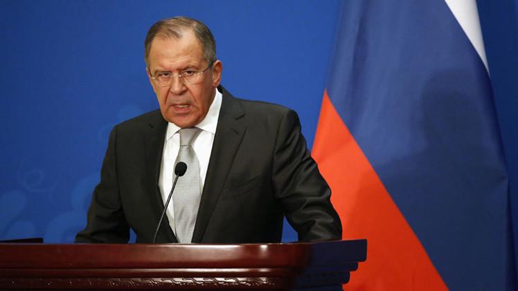 """Lavrov: """"Los últimos años muestran problemas estructurales en el orden mundial"""""""