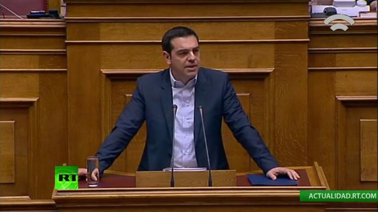 """Alexis Tsipras sobre el rescate: """"No vamos a pedir la extensión de errores"""""""