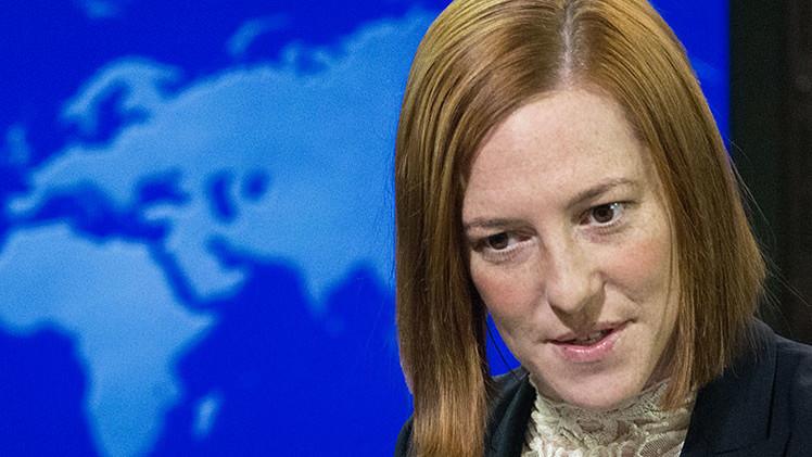 "Psaki: ""Estados Unidos sopesa suministrar armas a Ucrania para su defensa"""