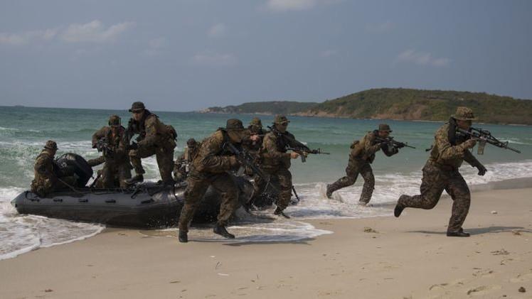 Tailandia y EE.UU. emprenden maniobras reducidas en medio de la crisis de relaciones