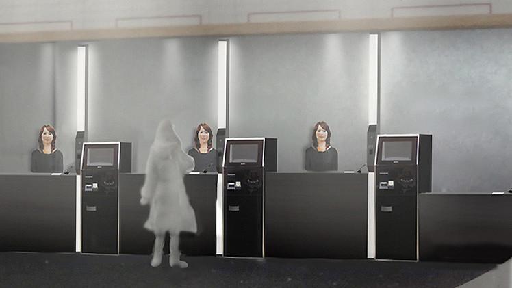 Video, fotos: Japón concibe un hotel donde los huéspedes serán atendidos por robots