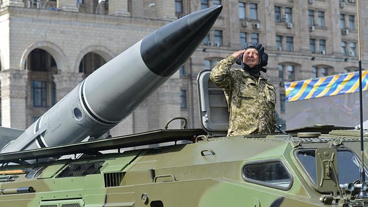 El lanzamiento de un misil causó la explosión en la fábrica química en Donetsk