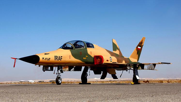 Irán presenta su nuevo caza supersónico de fabricación propia