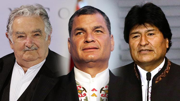 Correa, Morales y Mujica, entre los cinco líderes más populares del mundo