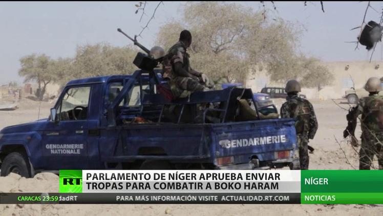 El parlamento de Níger aprueba enviar tropas para combatir a Boko Haram