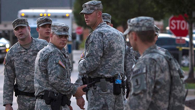 Las tropas de la Guardia Nacional de EE.UU. permanecerán en la frontera con México