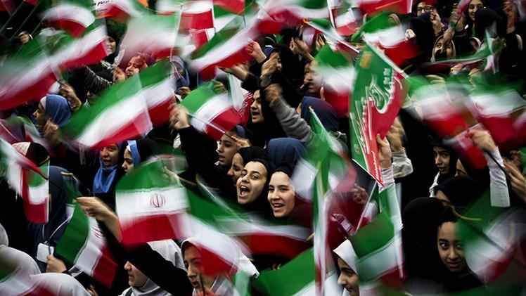 Video, Fotos: Irán celebra el 36º aniversario de la revolución islámica