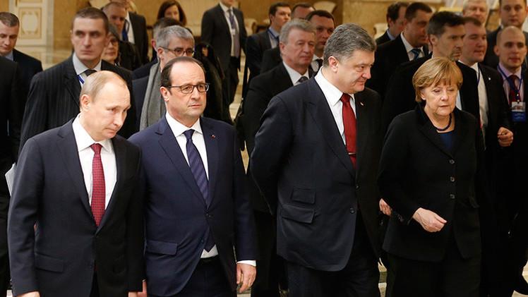 Detalles del acuerdo de Minsk