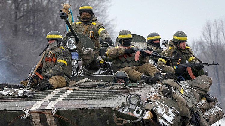 Cancillería rusa: La OTAN no tiene pruebas de que haya tropas rusas en Ucrania