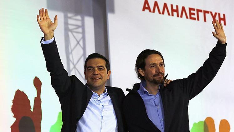 """Pablo Iglesias: """"Si la rama de oliva griega es rechazada, Europa puede caer"""""""